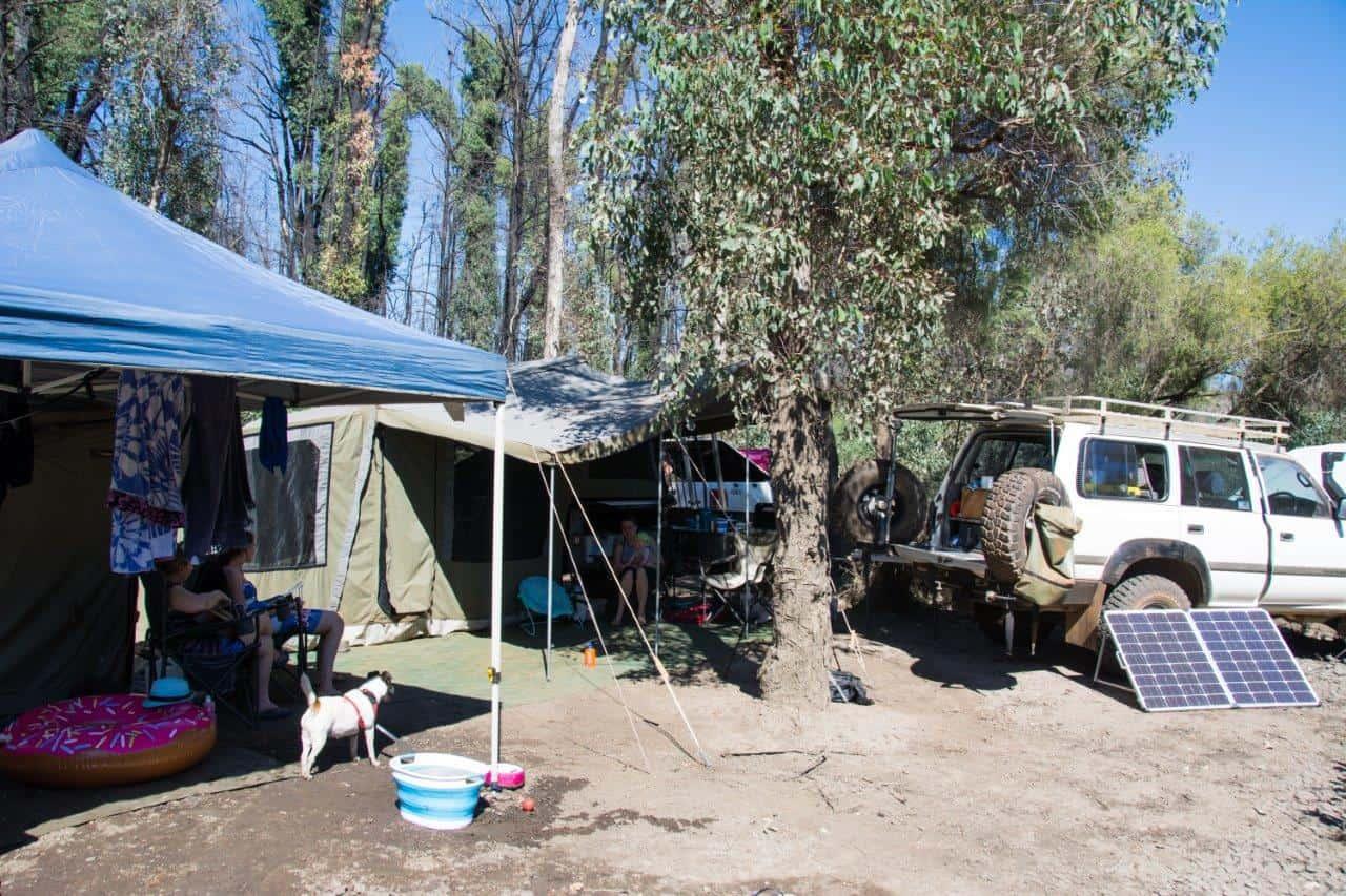 Outback camper trailer