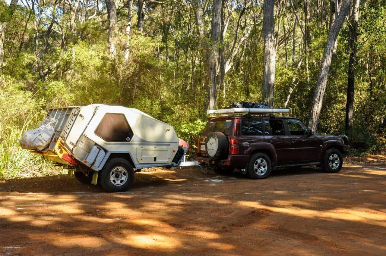 Tvan camper trailer