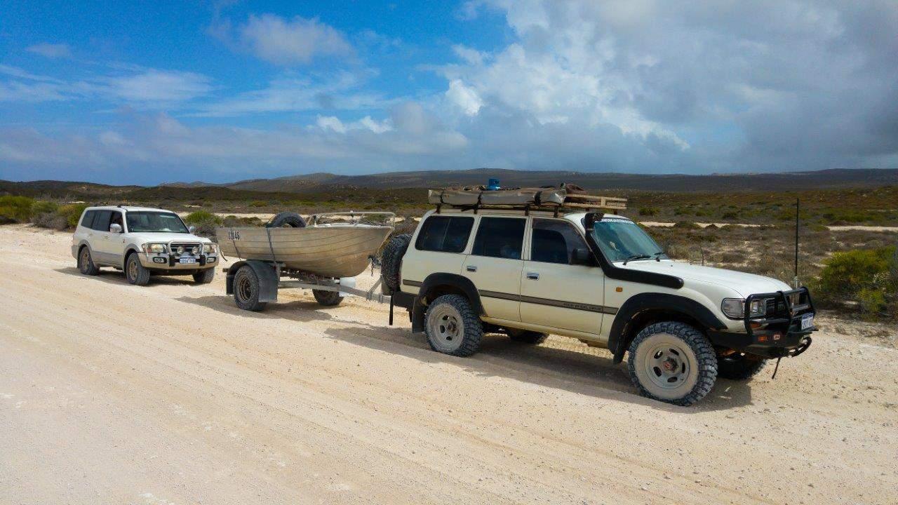 4WD boat trailer wheels