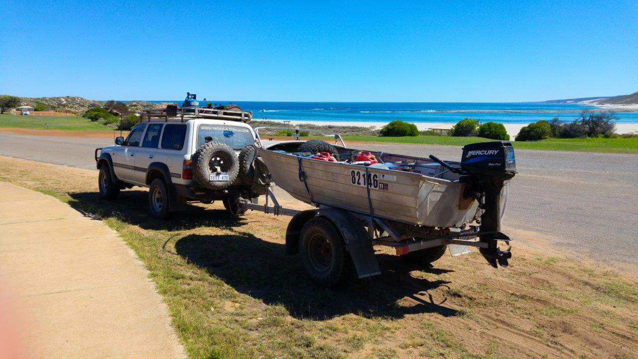 4WD and off road boat trailer