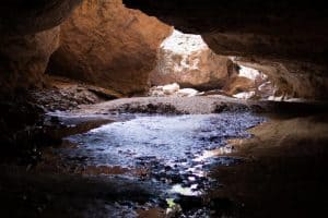 Entering Tunnel Creek