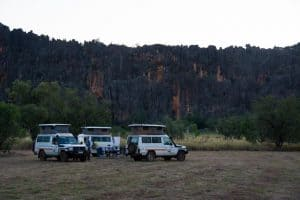 Windjana Gorge camping