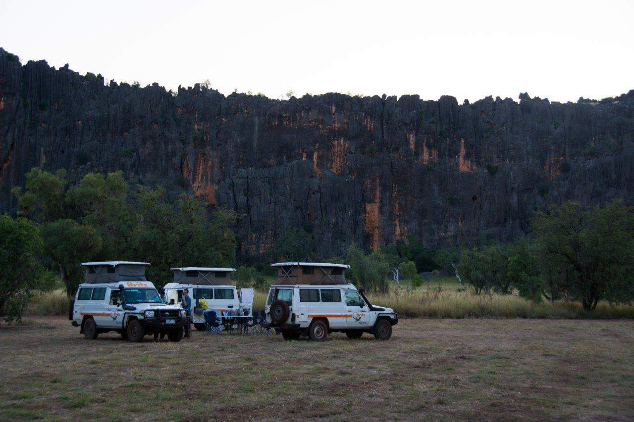 Windjana Gorge camping