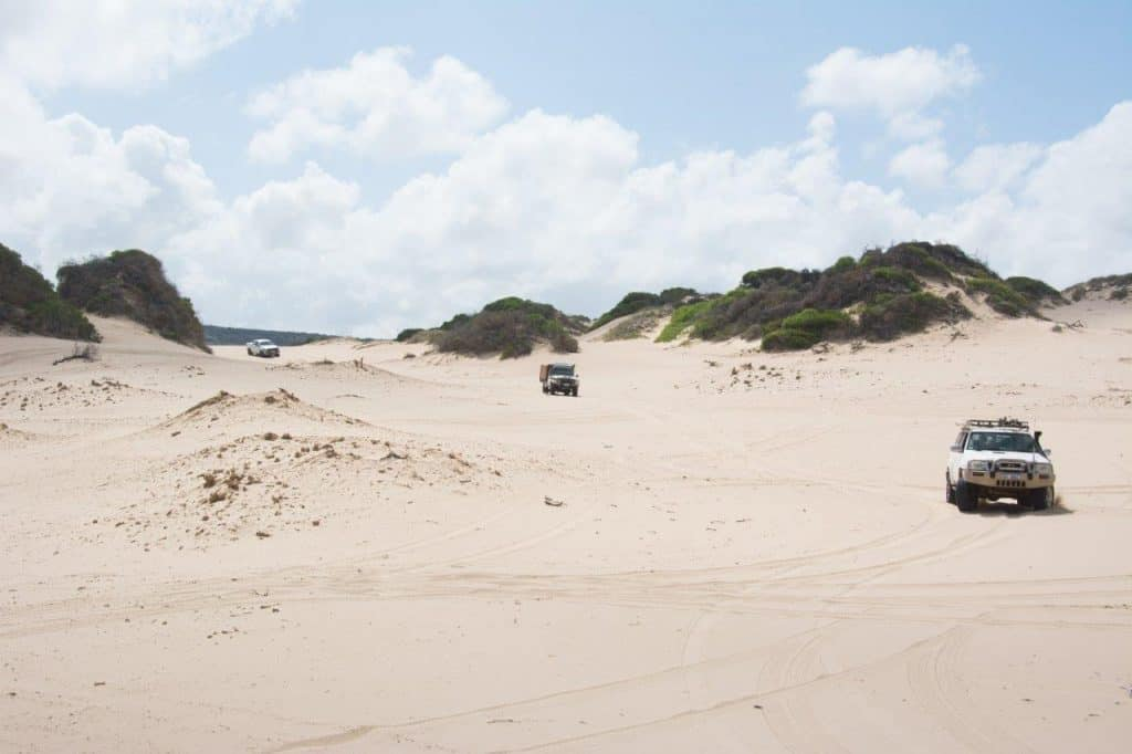 Hutt River Dunes by 4WD