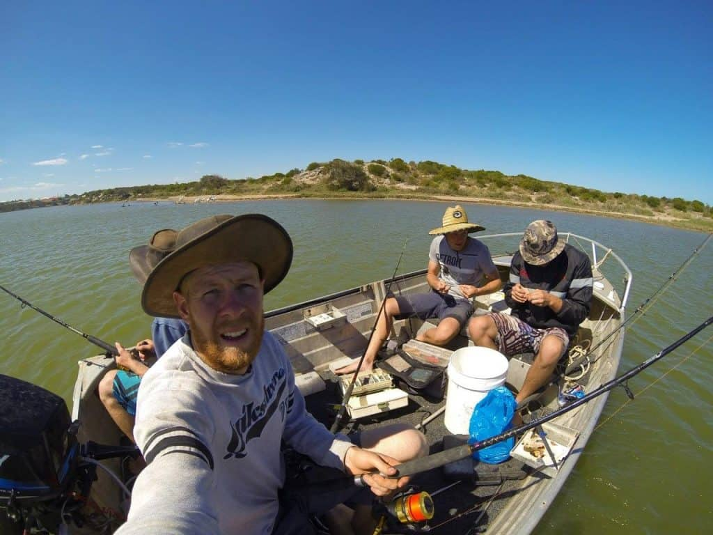 Fishing at Cape Burney
