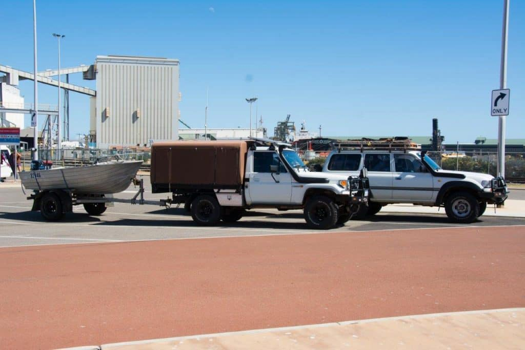 Geraldton long vehicle parking