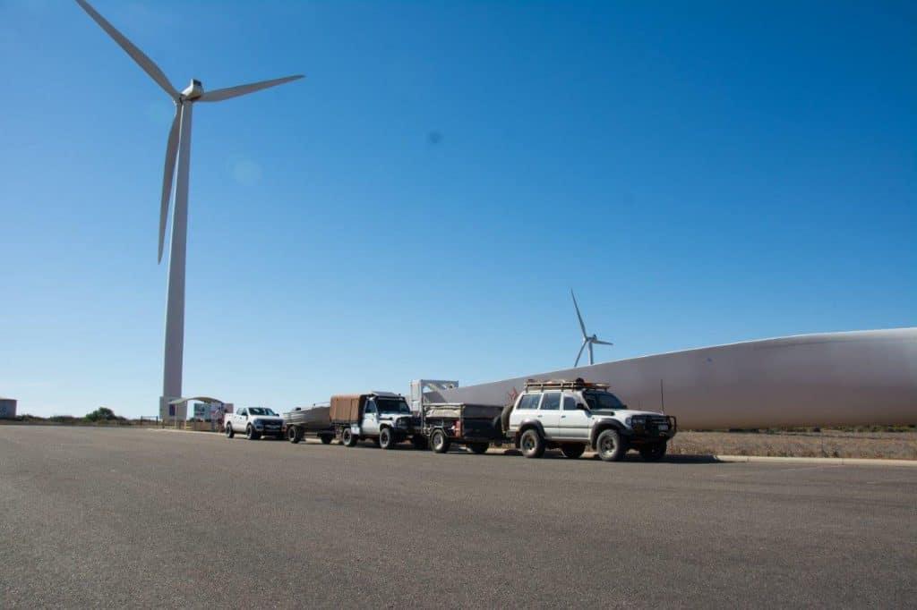 Wind farm at Geraldton