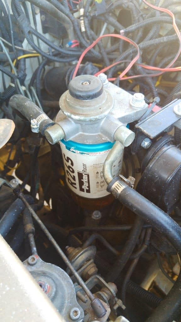 Fuel filter 1HDT