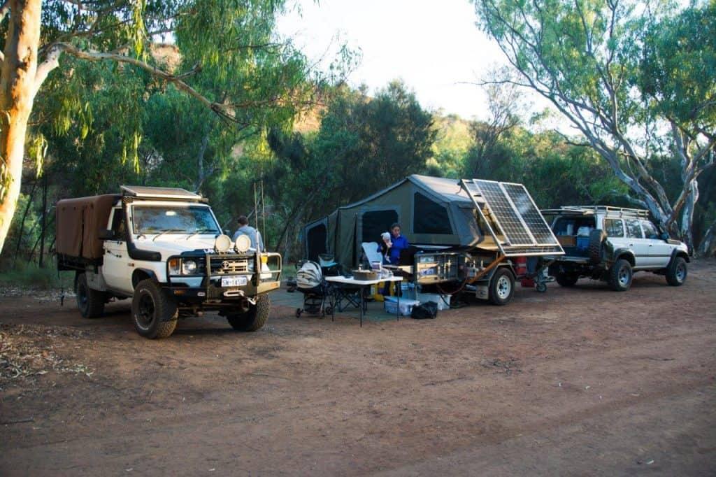 Ellendale Pool Camping