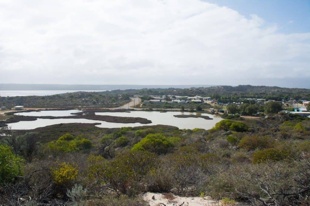 4WD Tracks at Port Gregory