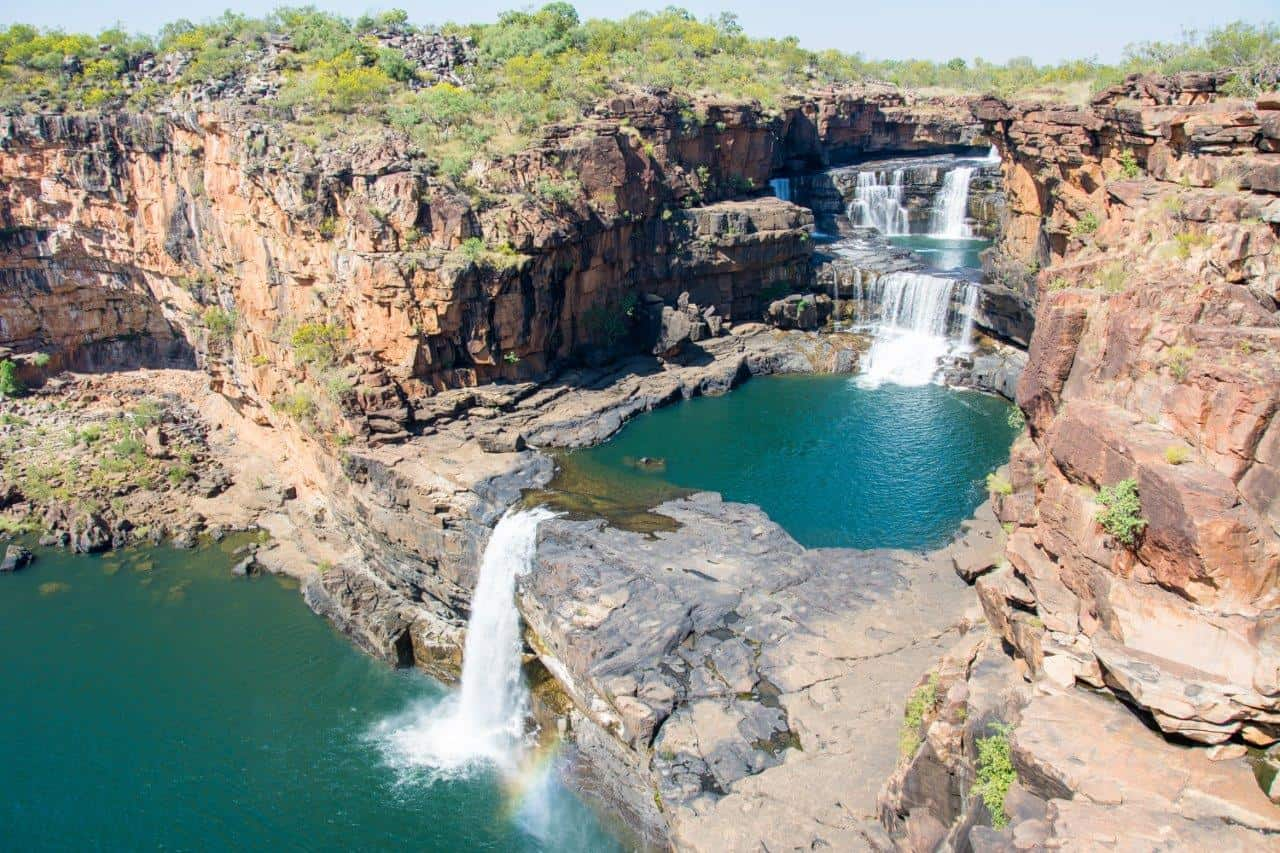Mitchell Falls in the Kimberley