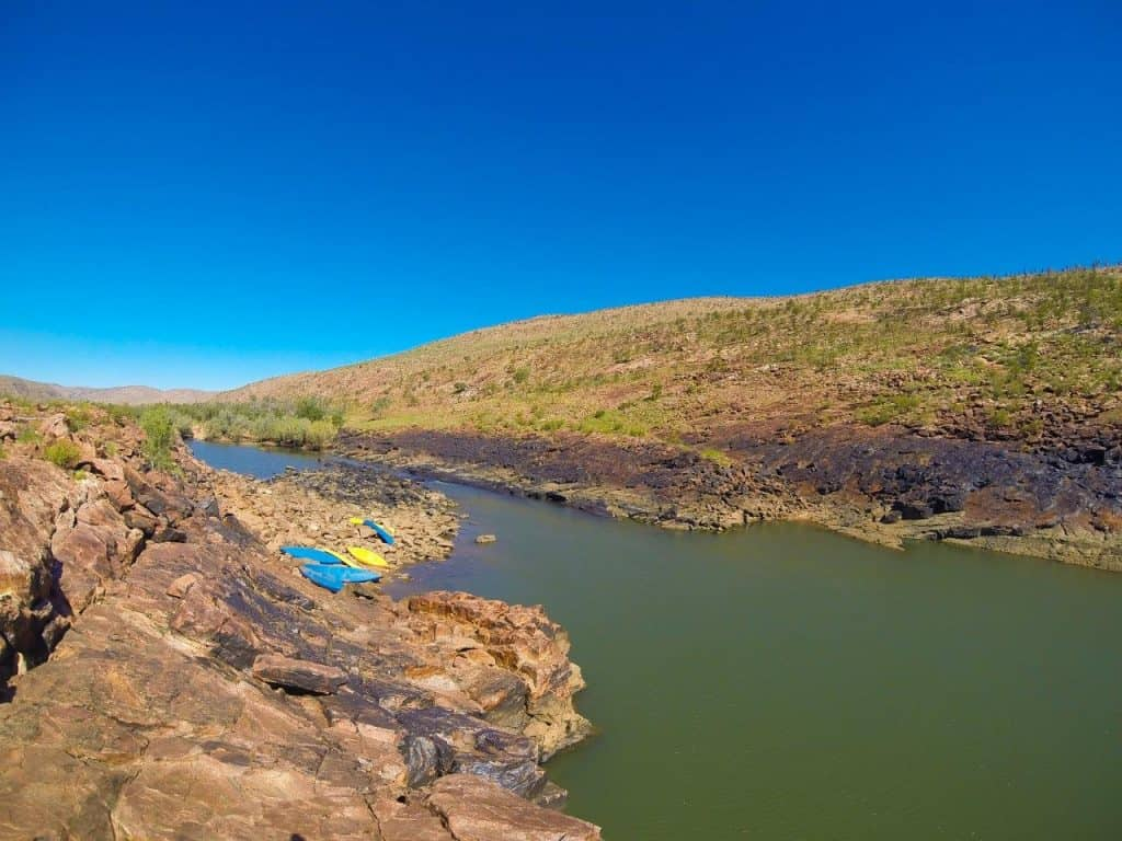 Warm afternoon at Dimond Gorge
