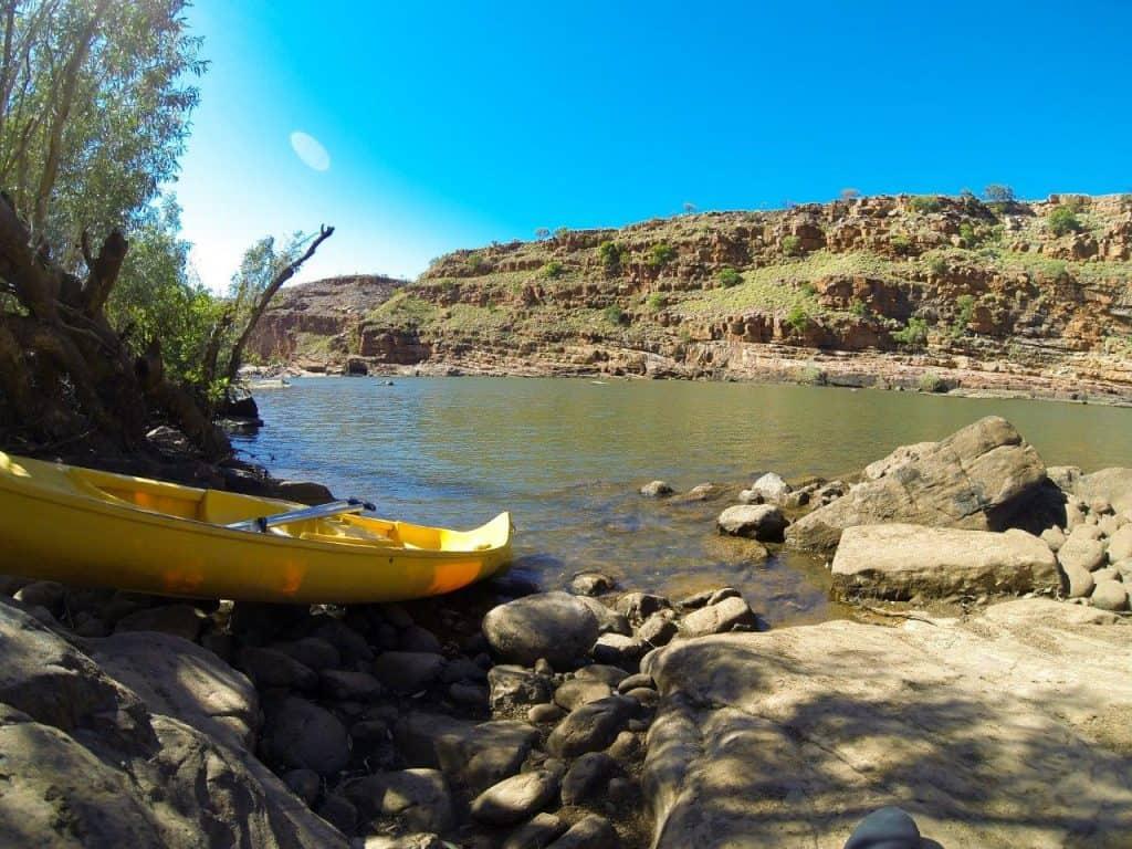 Canoeing at Mornington