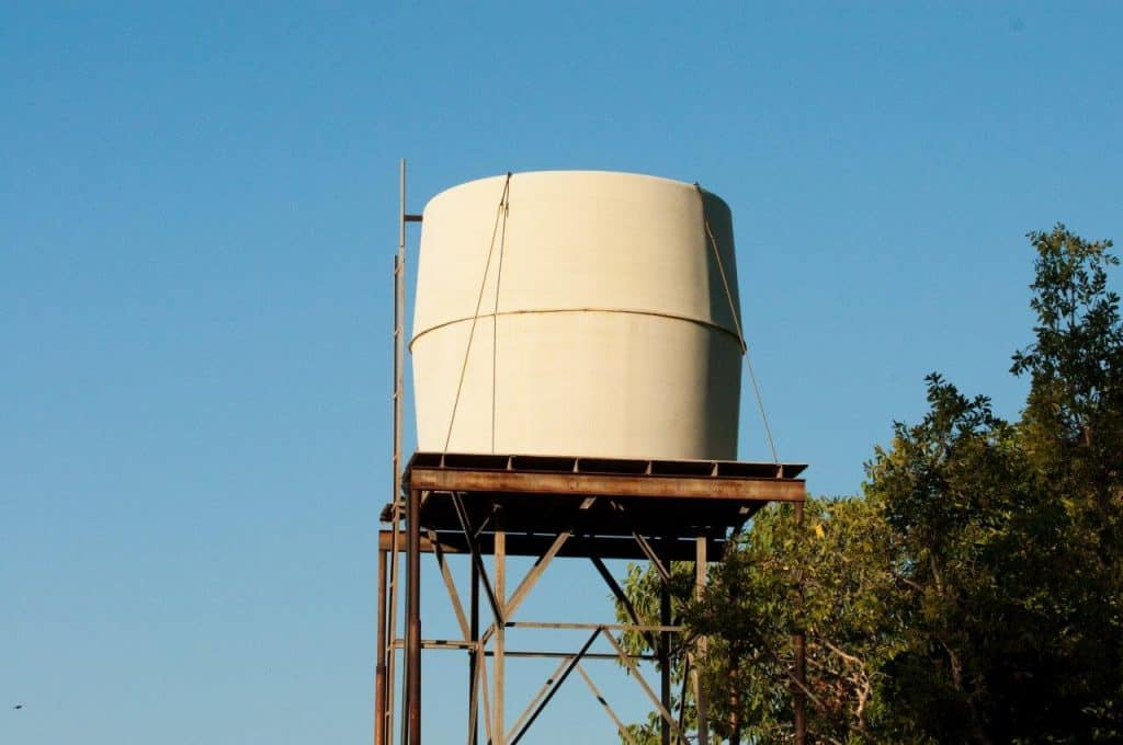Silent Grove water tank
