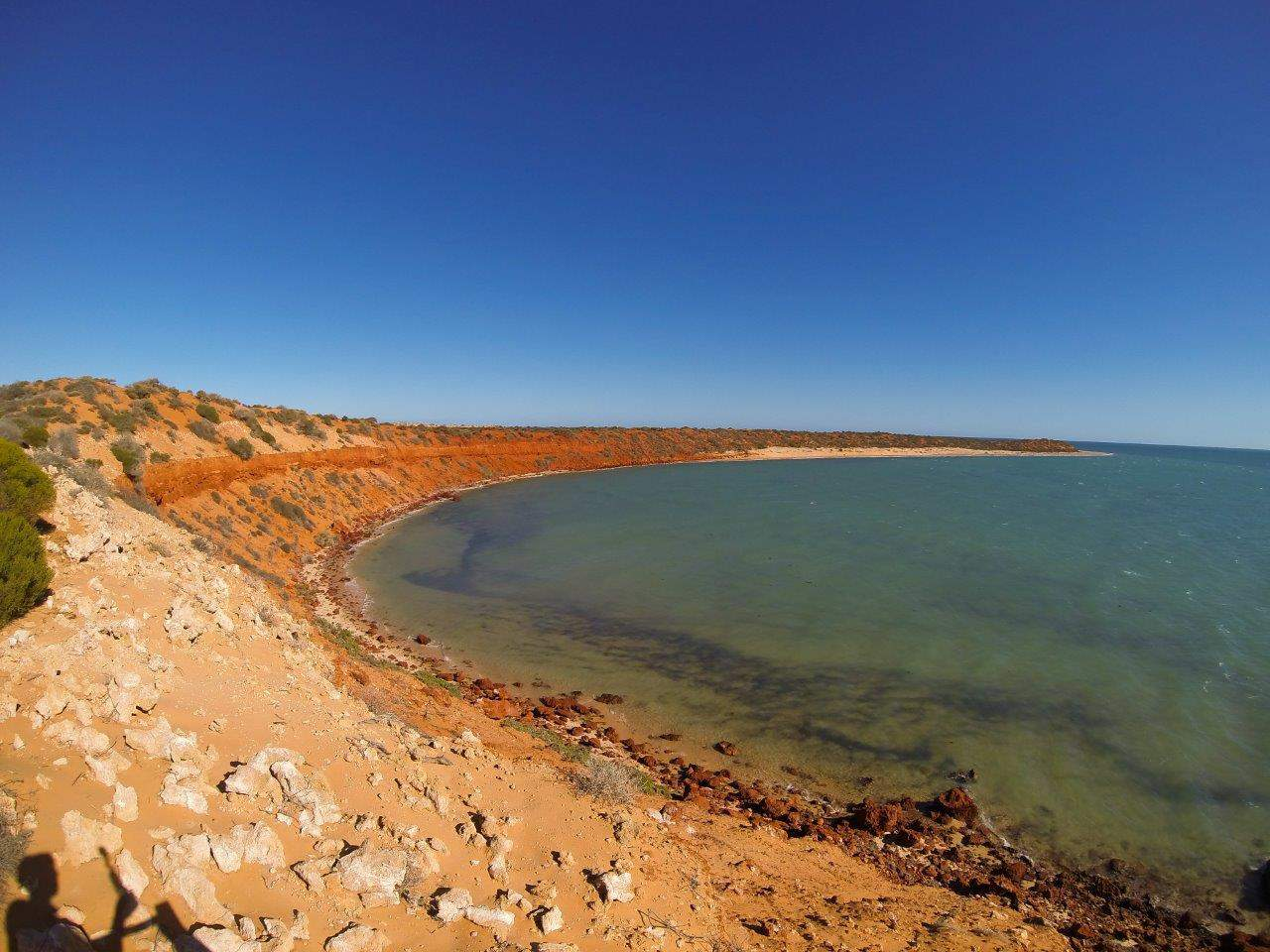 Skip Jack point lookout in Francois Peron National Park
