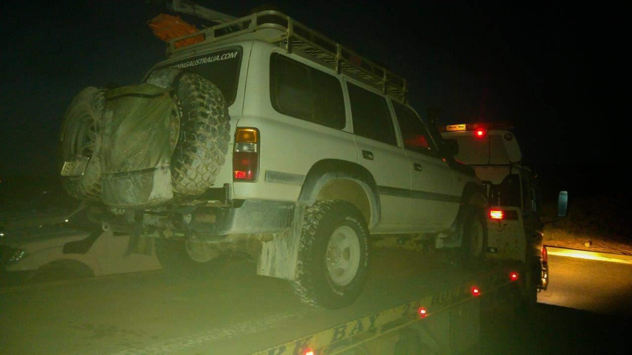 Tow Truck Land Cruiser
