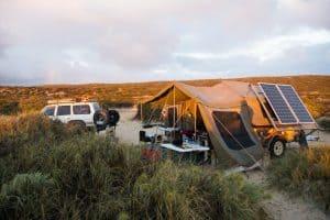 Camper trailer annexe