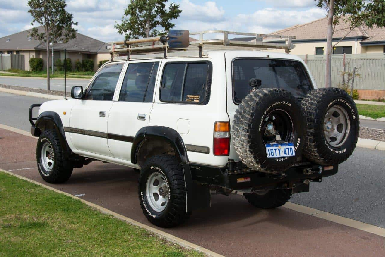 We Are Selling Our 80 Series Land Cruiser