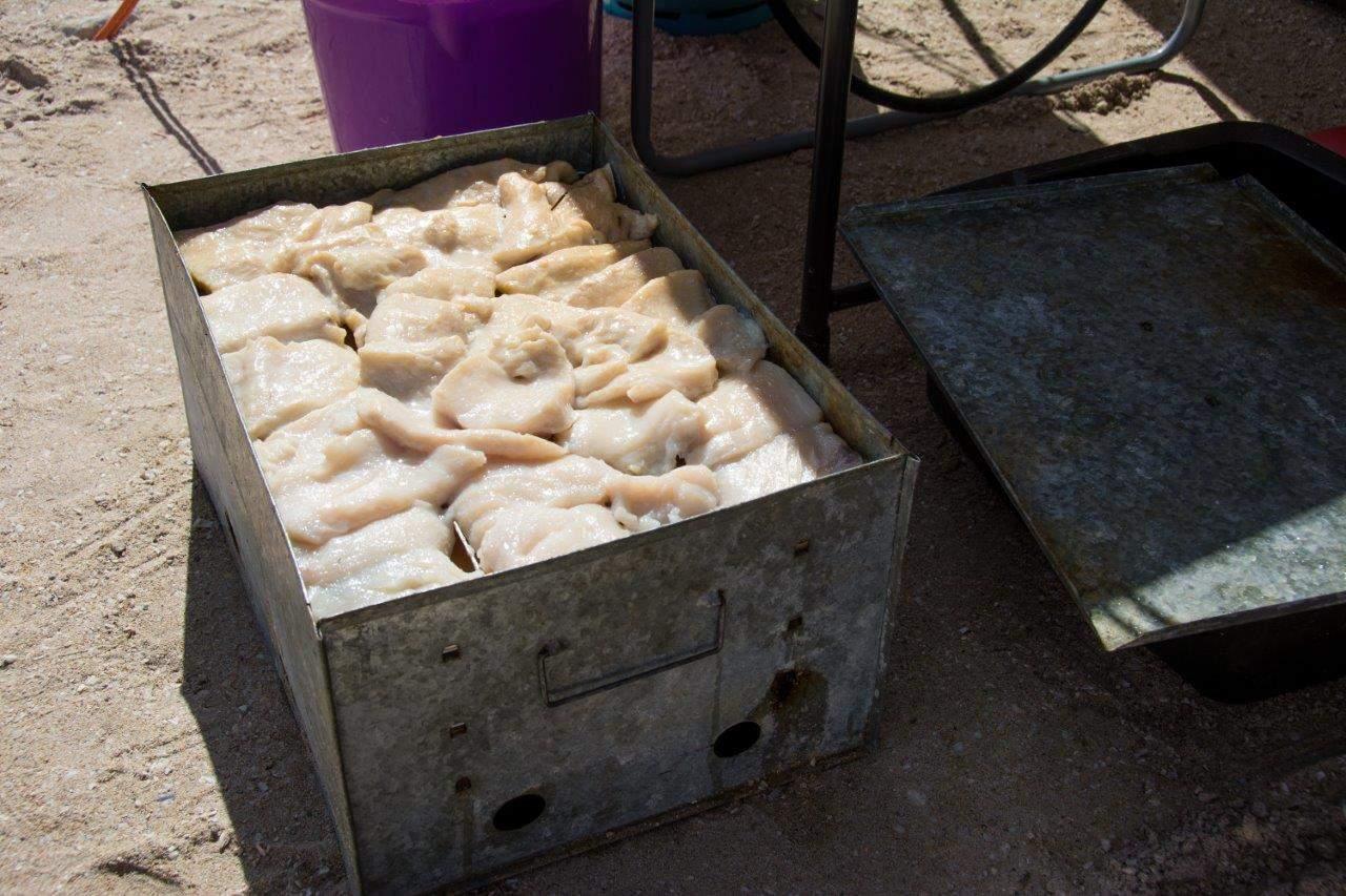 Smoked Mackerel fish at Steep Point