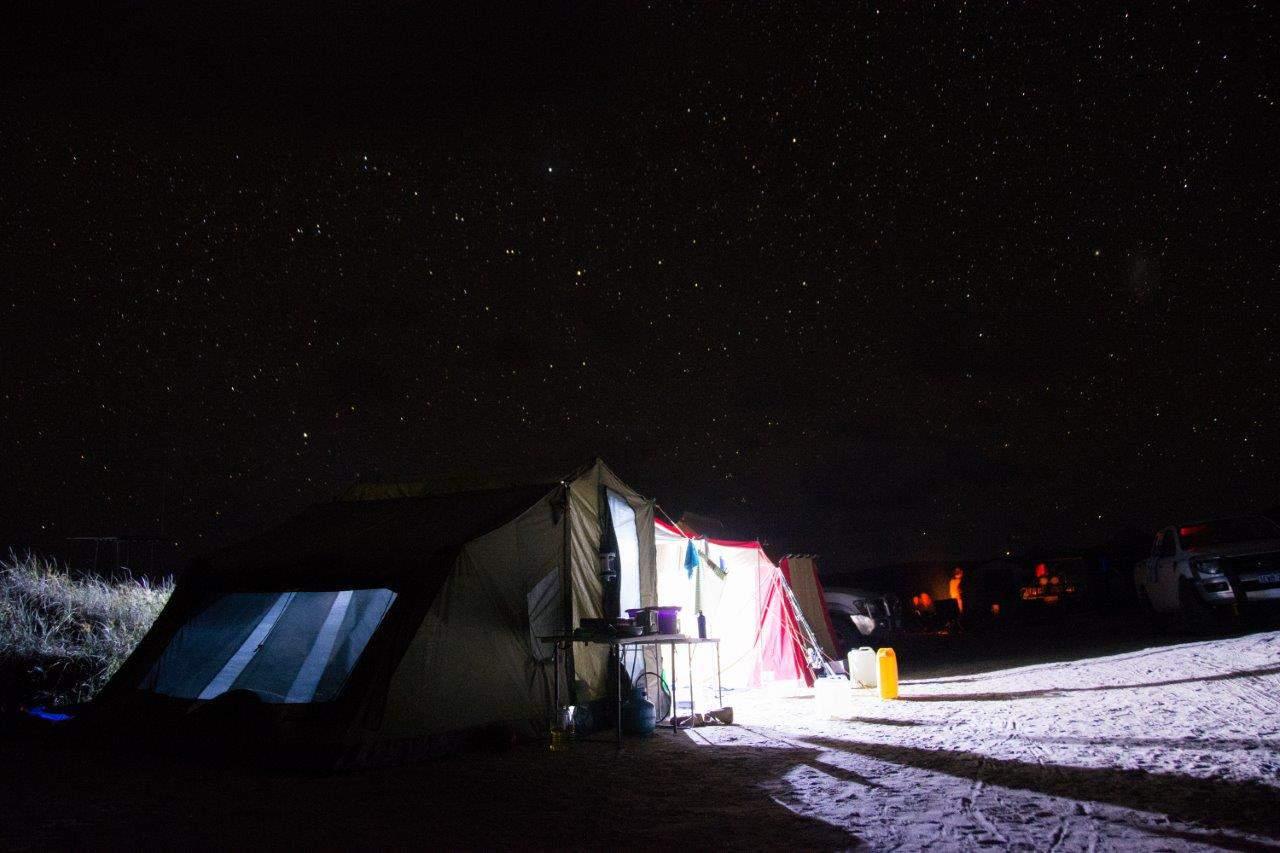 Camping at Steep Point