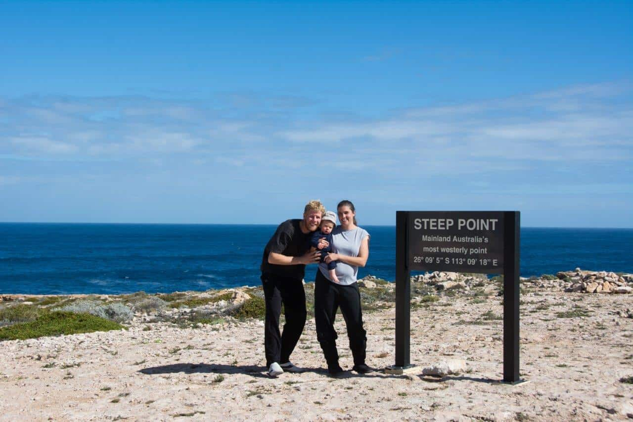 Family Friendly at Steep Point