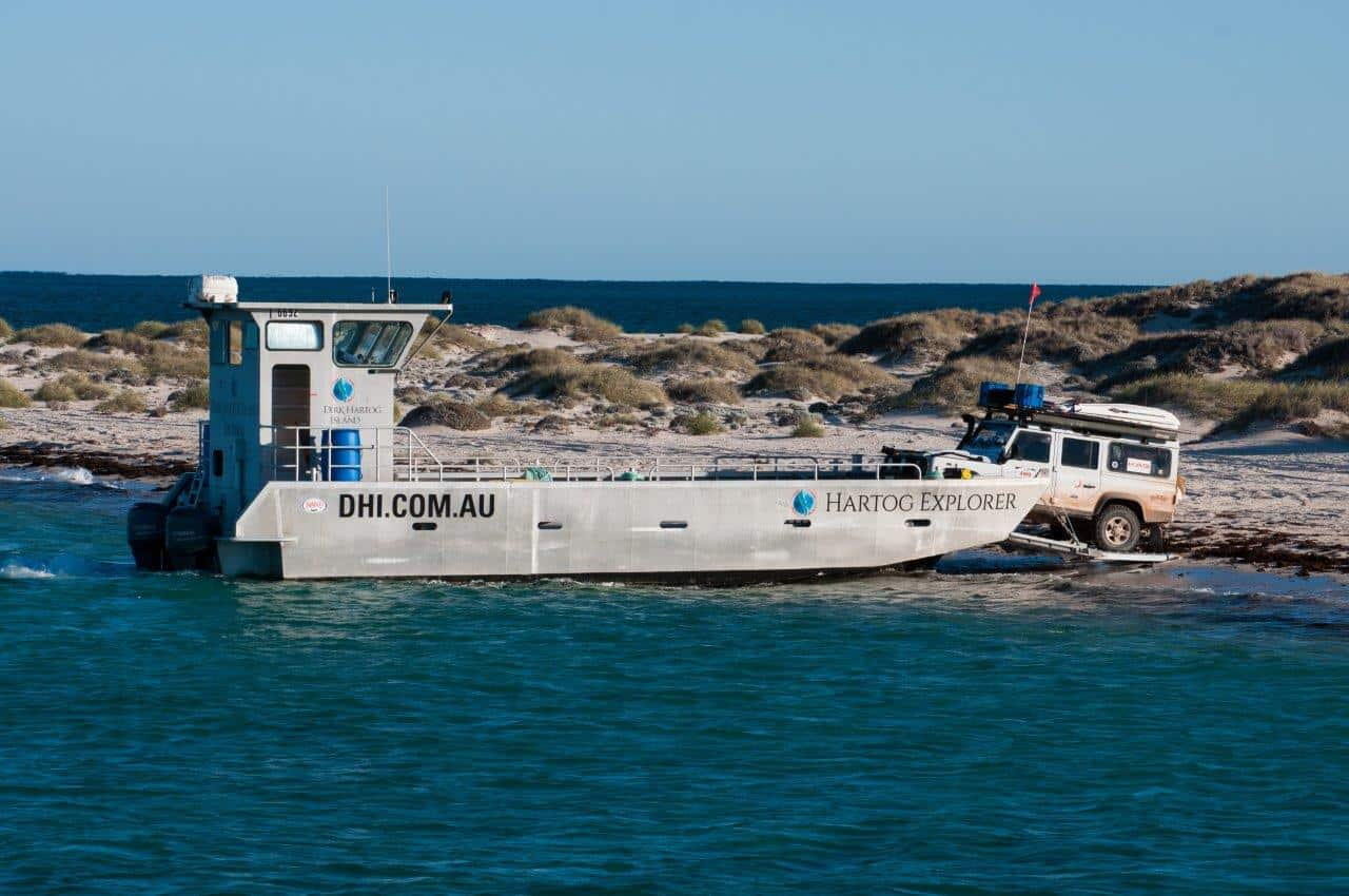 Dirk Hartog Island Barge