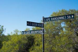 Dirk Hartog Island signs