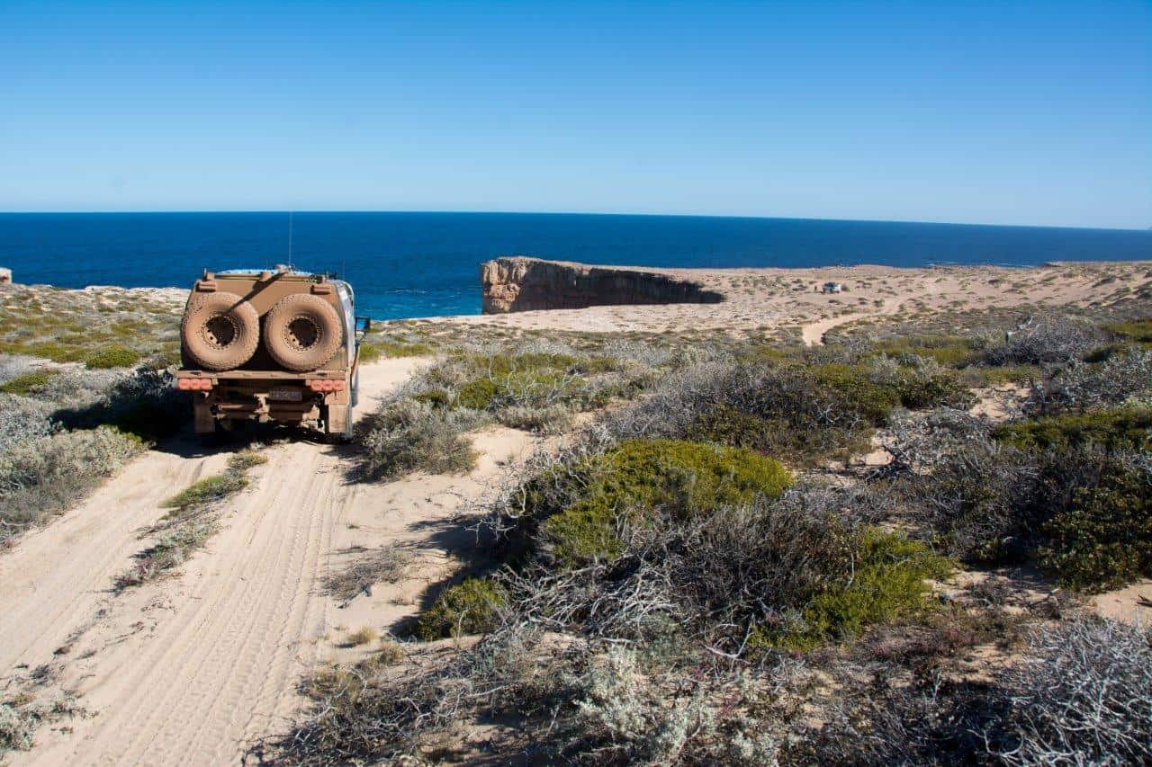 Dirk Hartog island rugged west coast