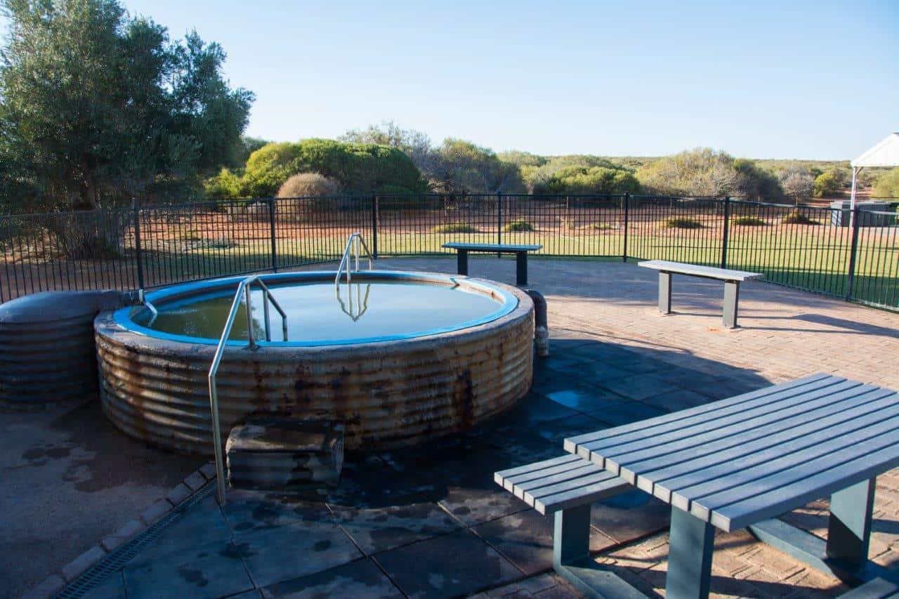 Artesian hot springs