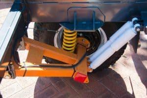 Camper trailer independent suspension