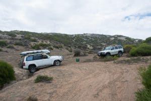 4WDing at Kalbarri