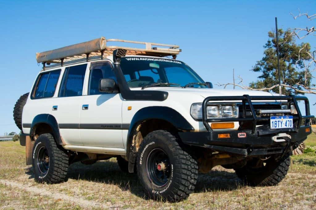 80 Series 4WD modifications