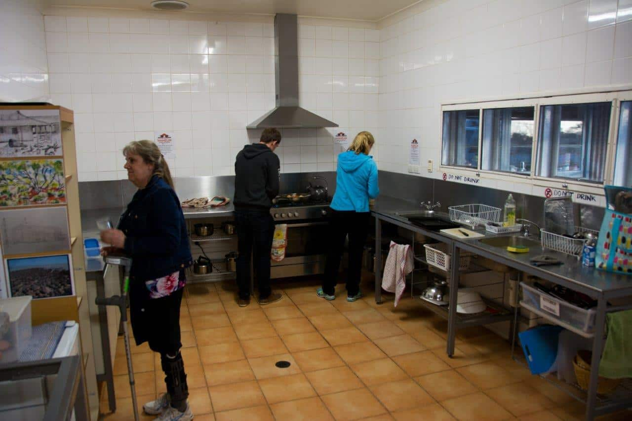 Camp Kitchen at Hamelin Station