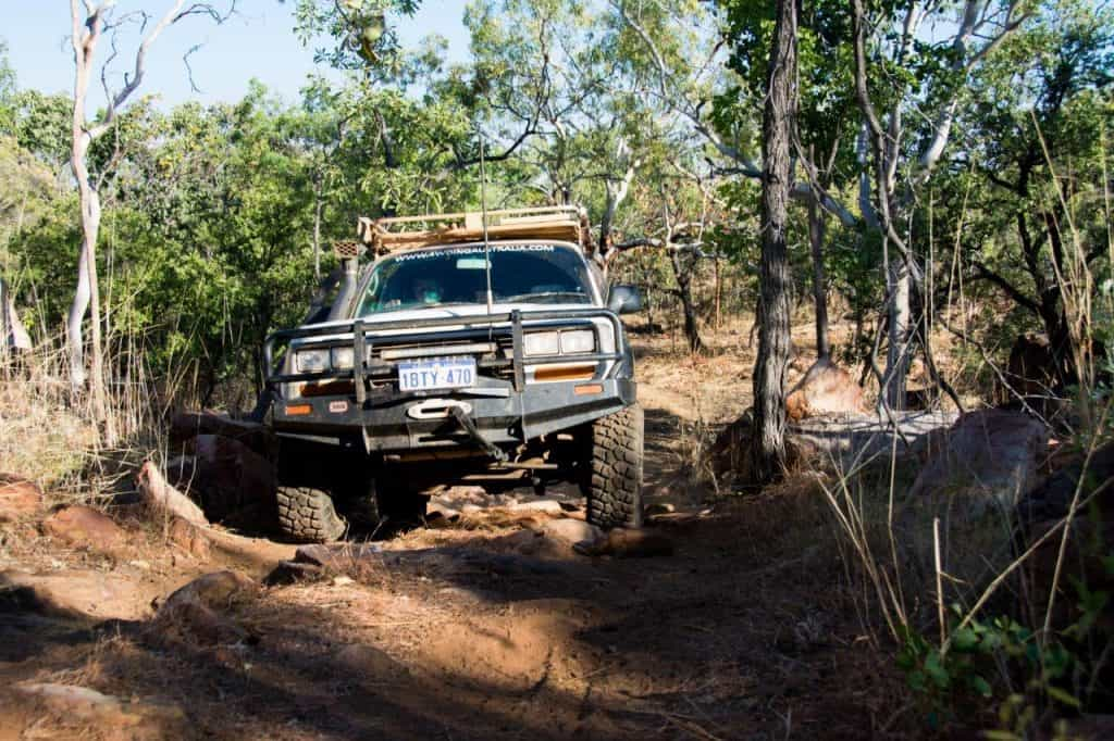Mount Elizabeth 4WD Tracks