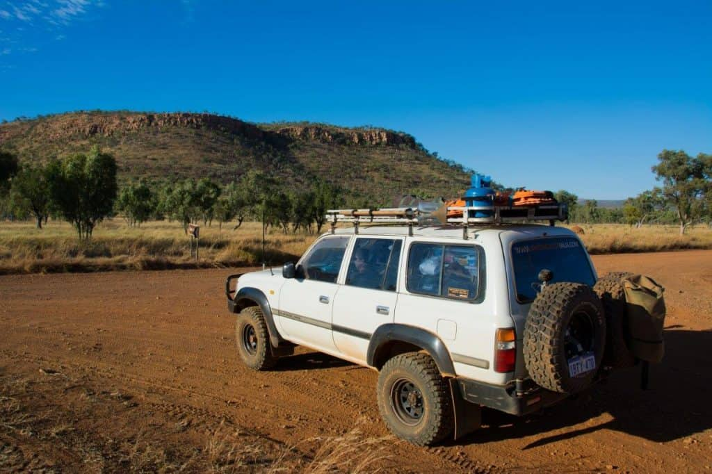 Land Cruiser 4WD on the Gibb River Road