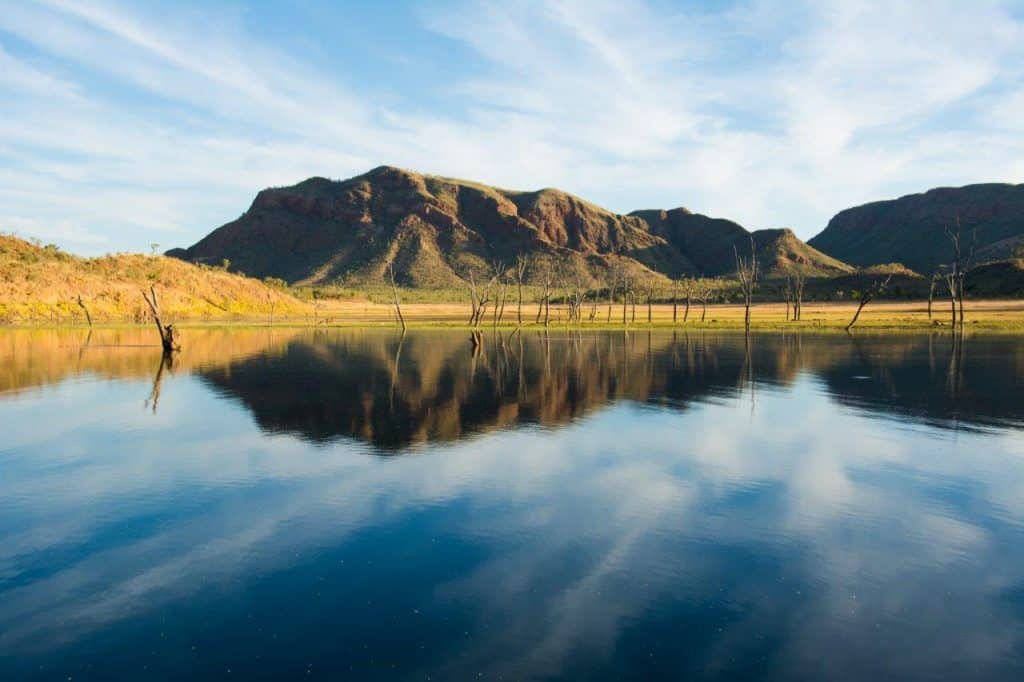 Reflections from a Lake Argyle tour