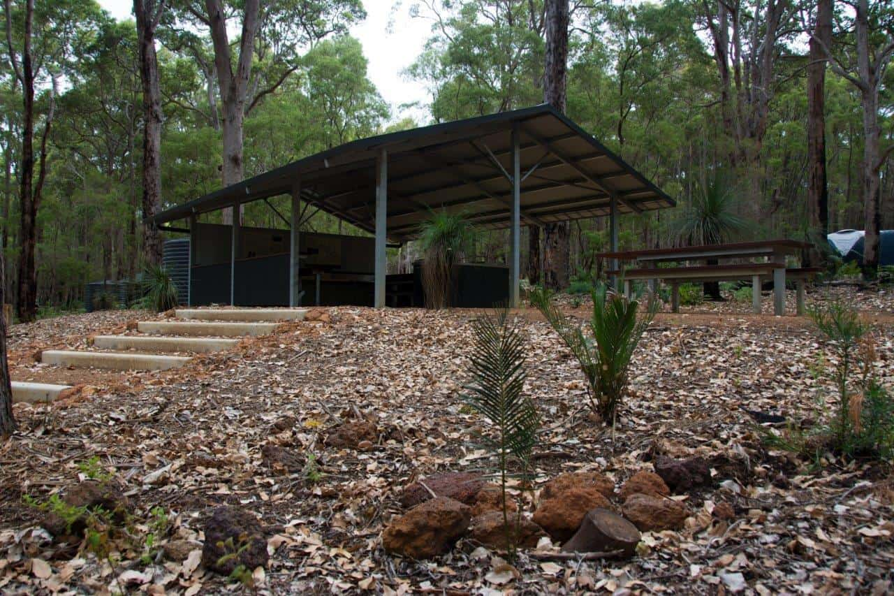 Camp kitchens at Margaret River