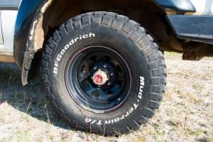 4WD tyre load rating