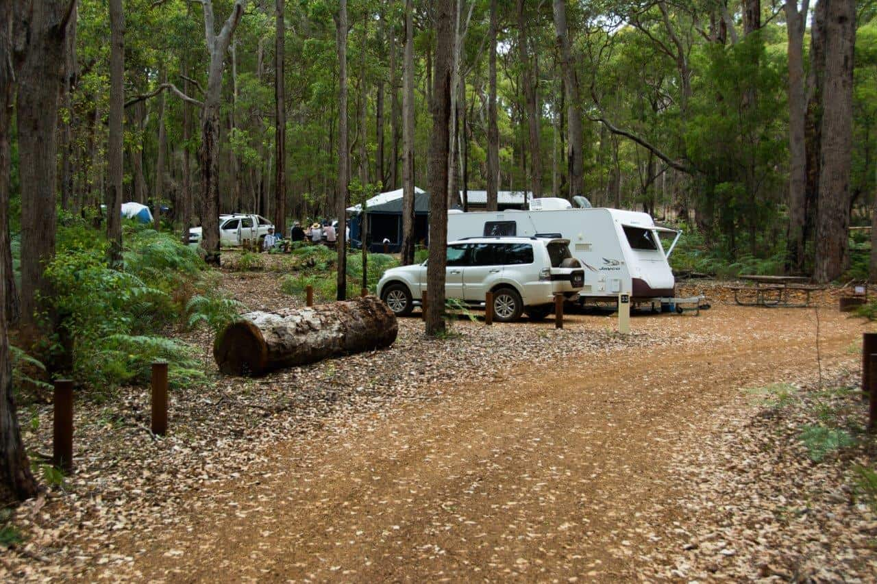 Camping out of Margaret River