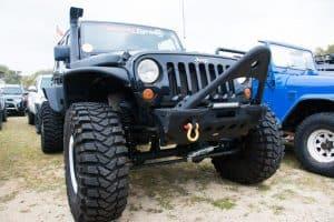 Jeep 4WD big tyres