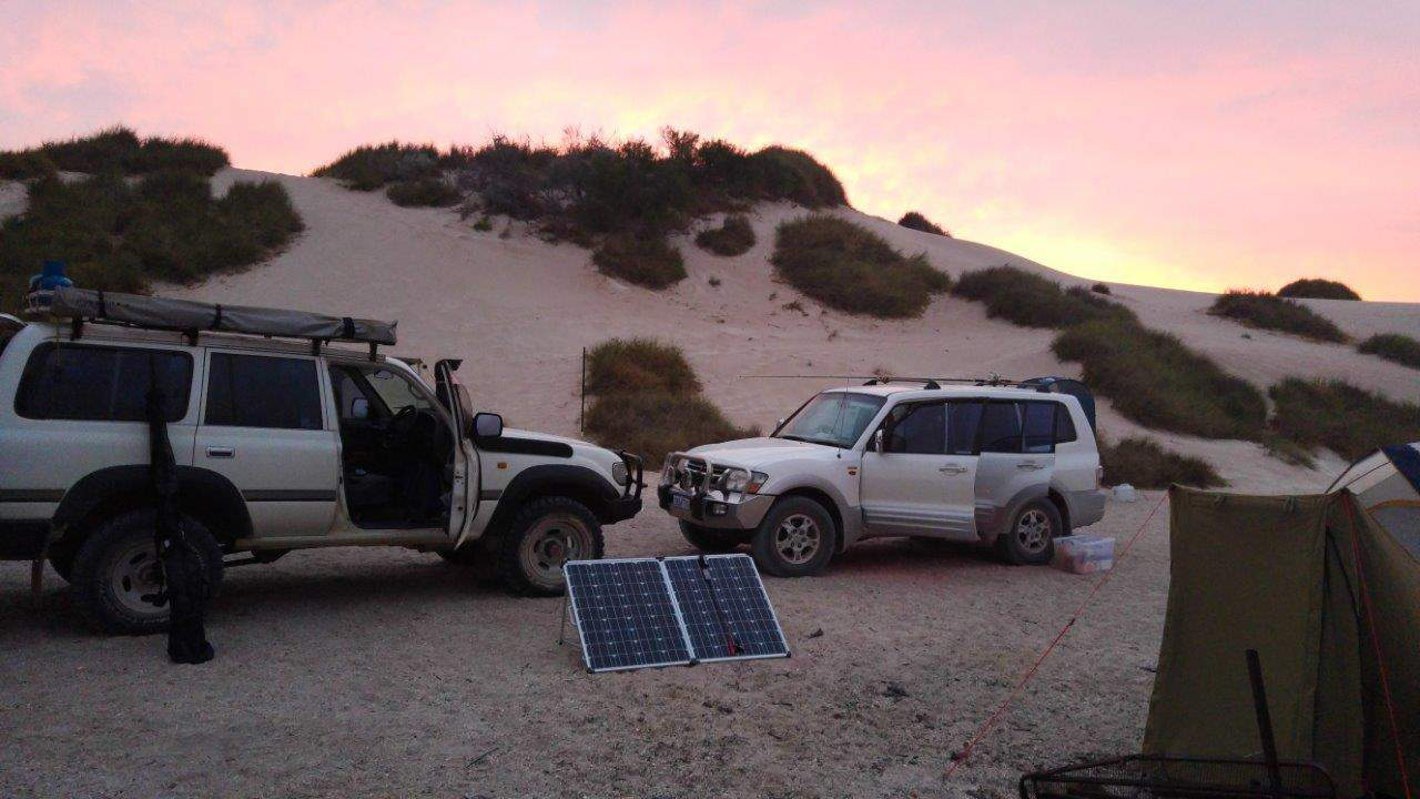 180W folding solar panels