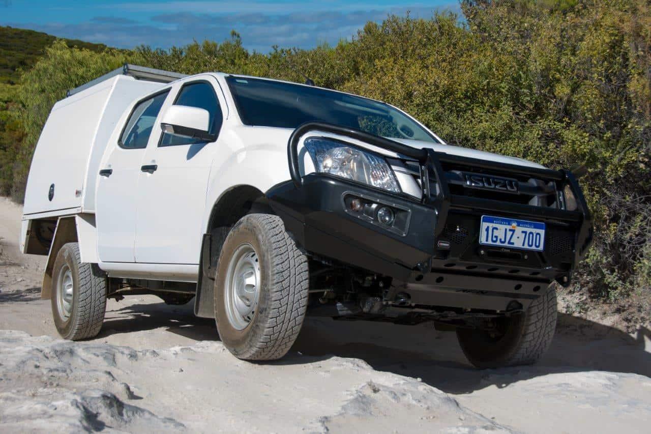Our Isuzu Dmax Build For Touring Australia Fuse Box Afn Bull Bar On A