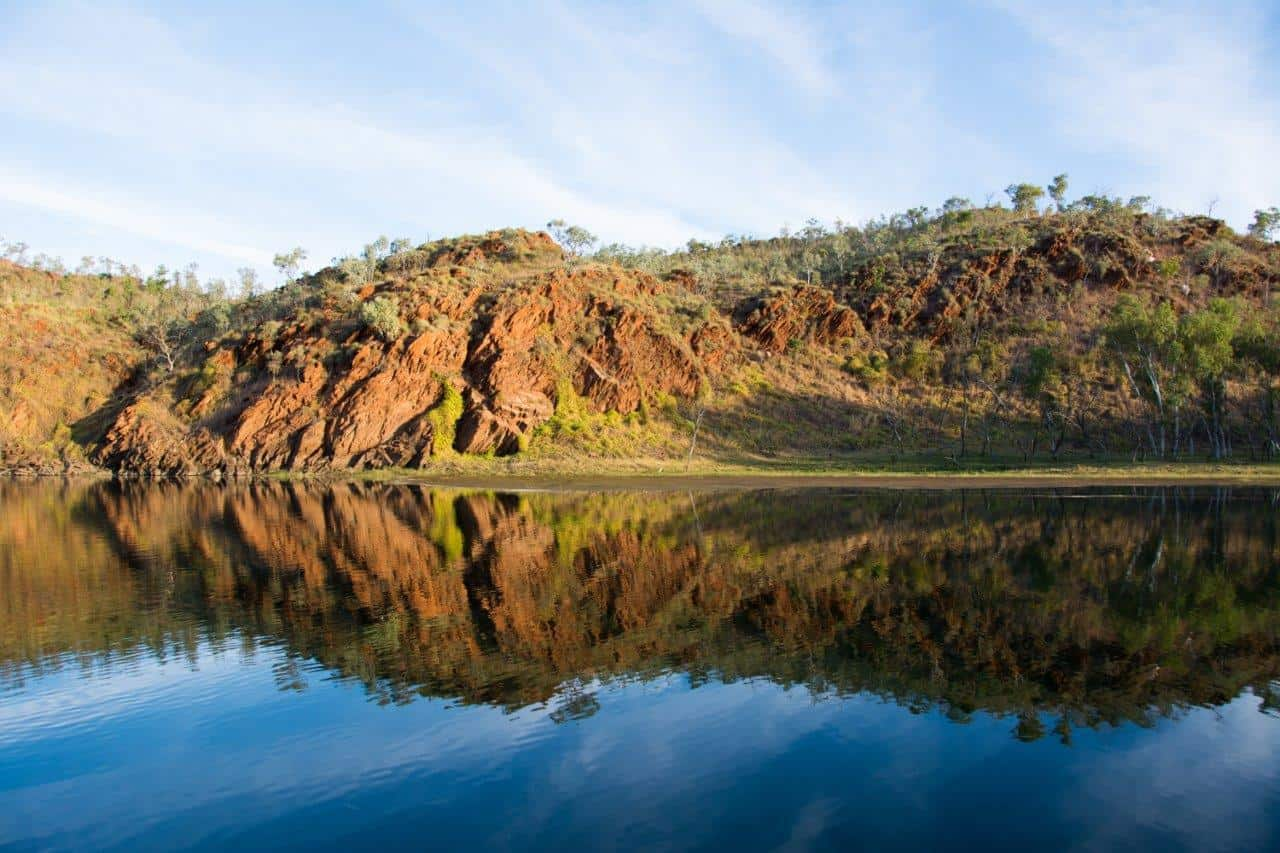 Lake Argyle reflections
