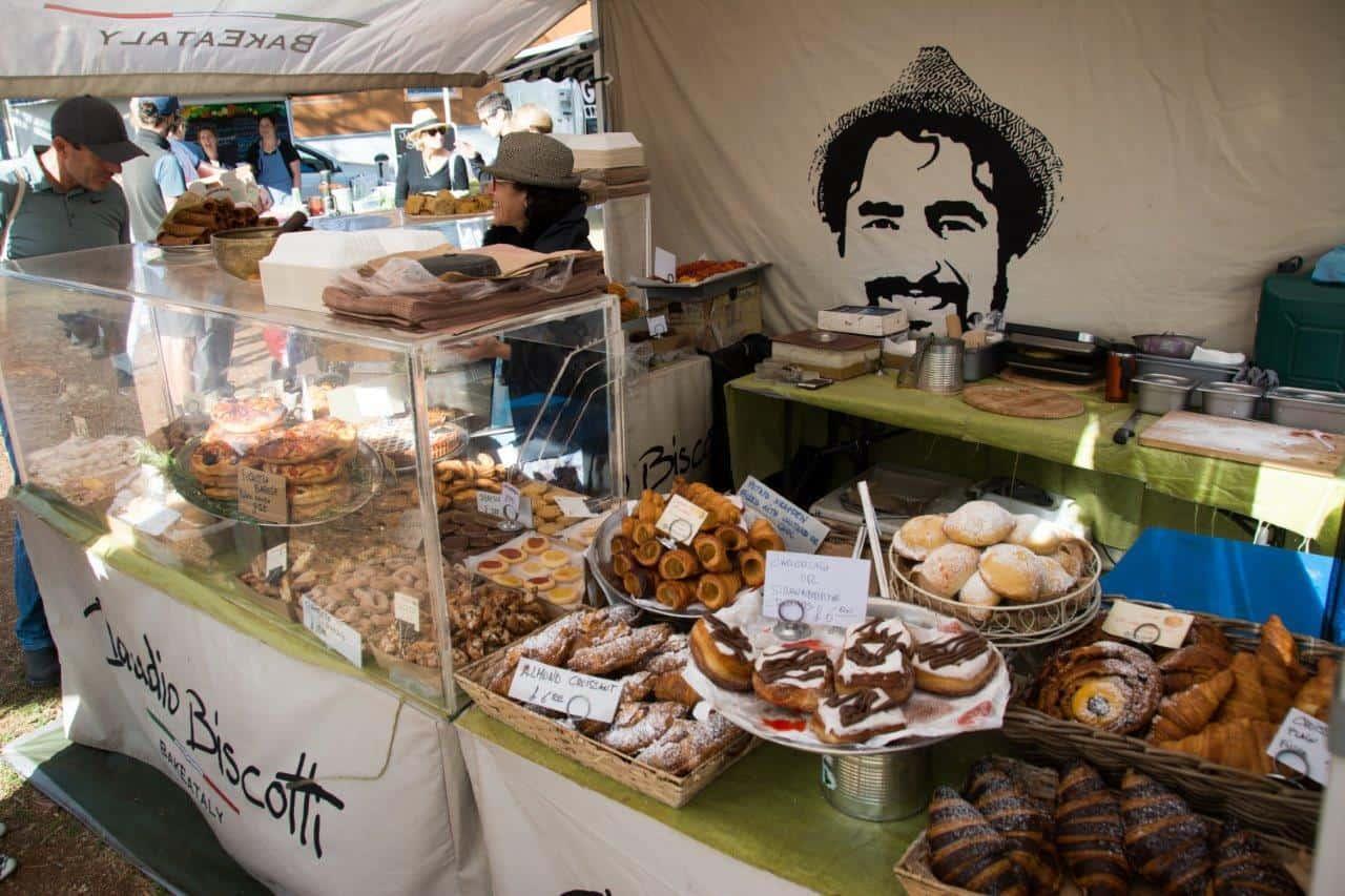 Margaret River market food