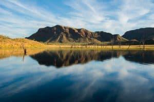 Mind blown at Lake Argyle