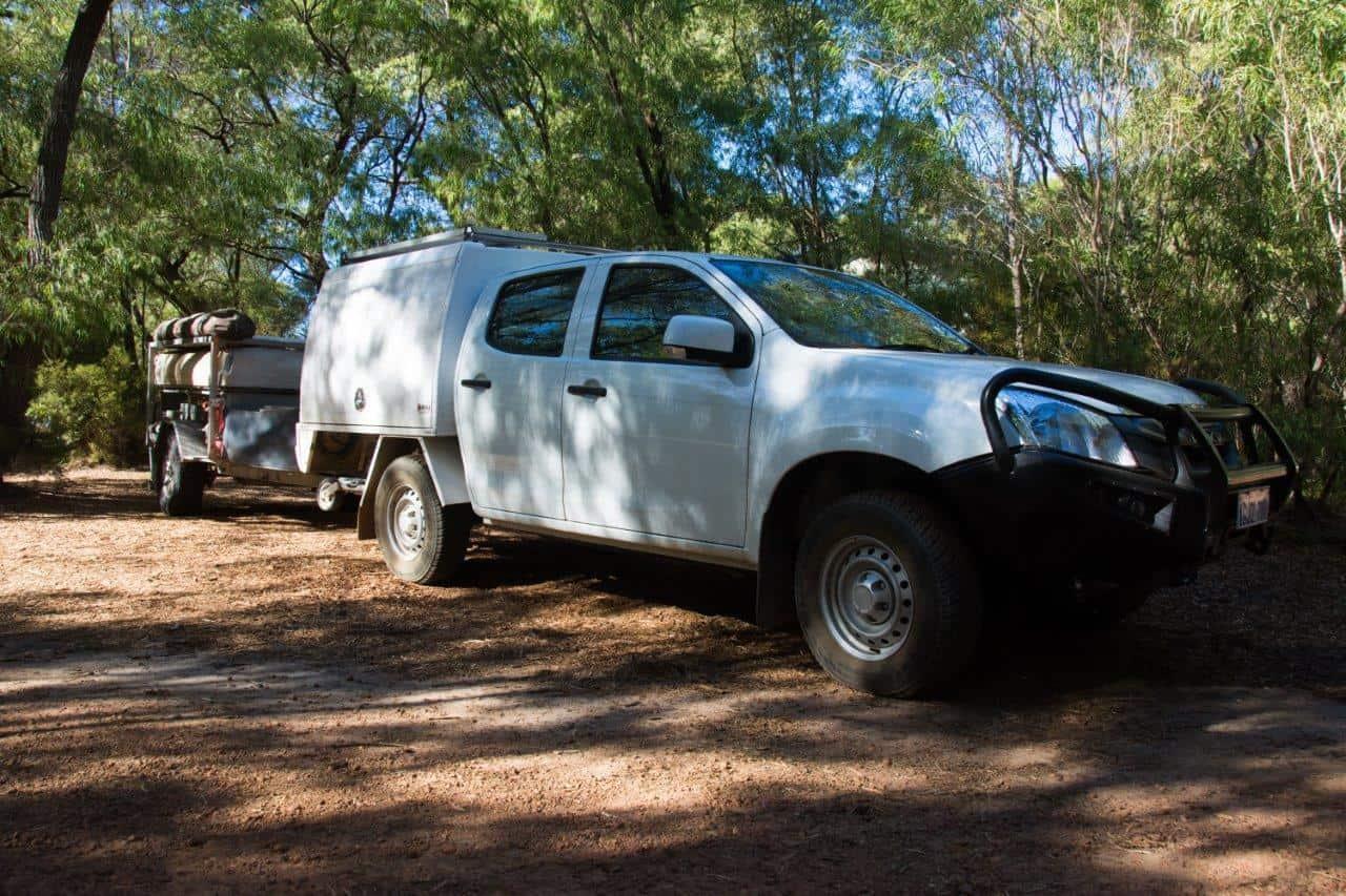 Camper trailer tyre upgrade