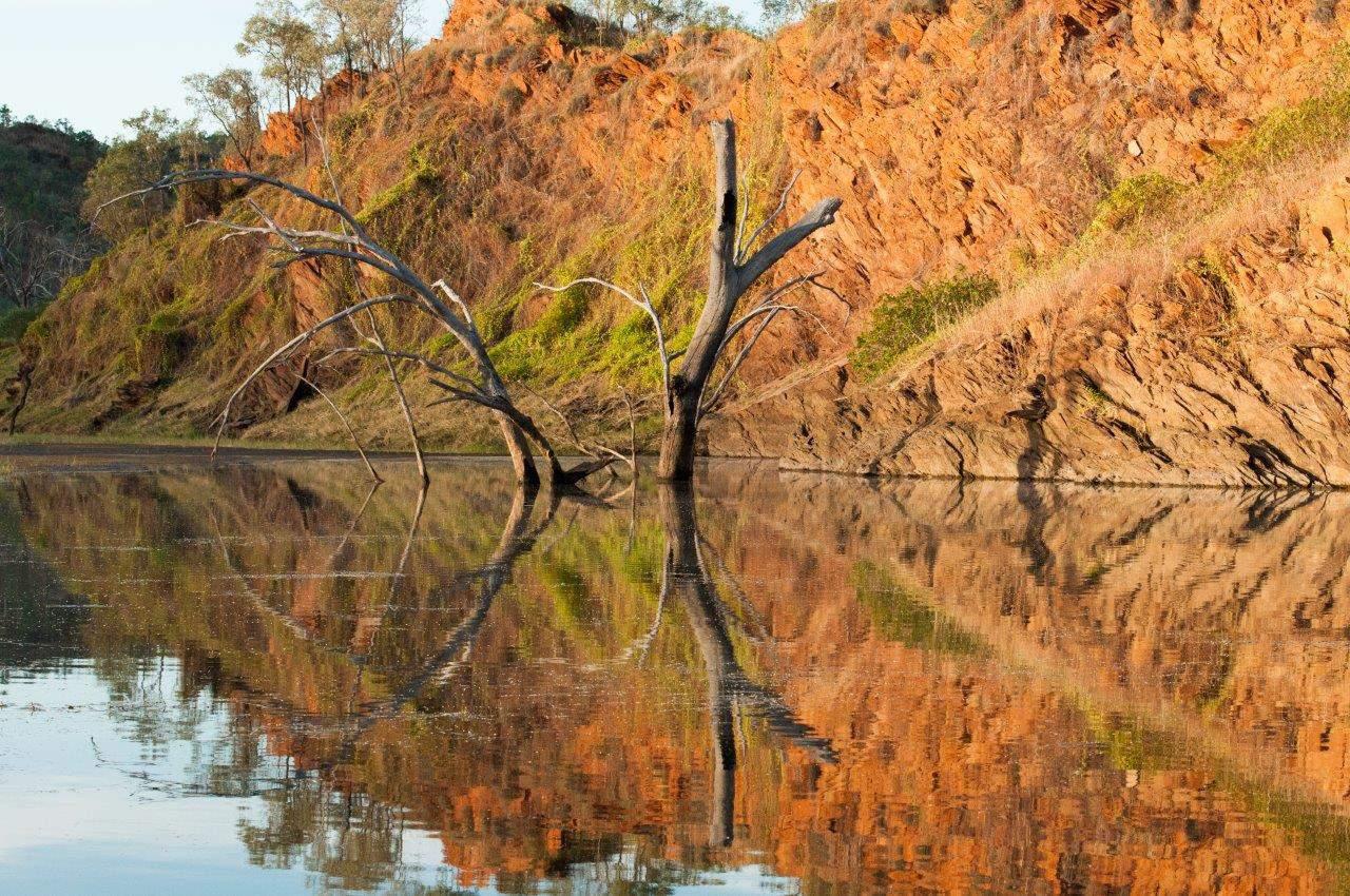 Lake Argyle reflections