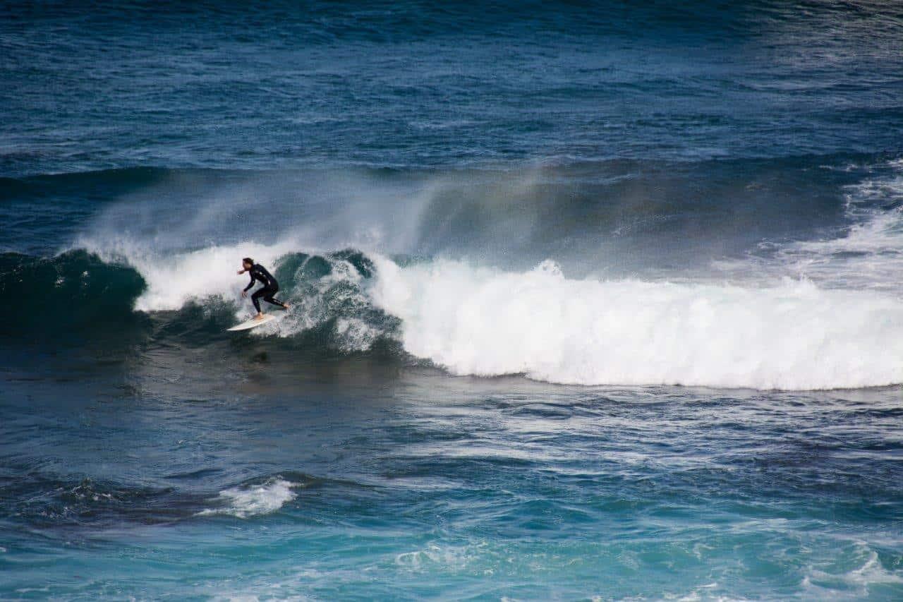 Margaret River surfing