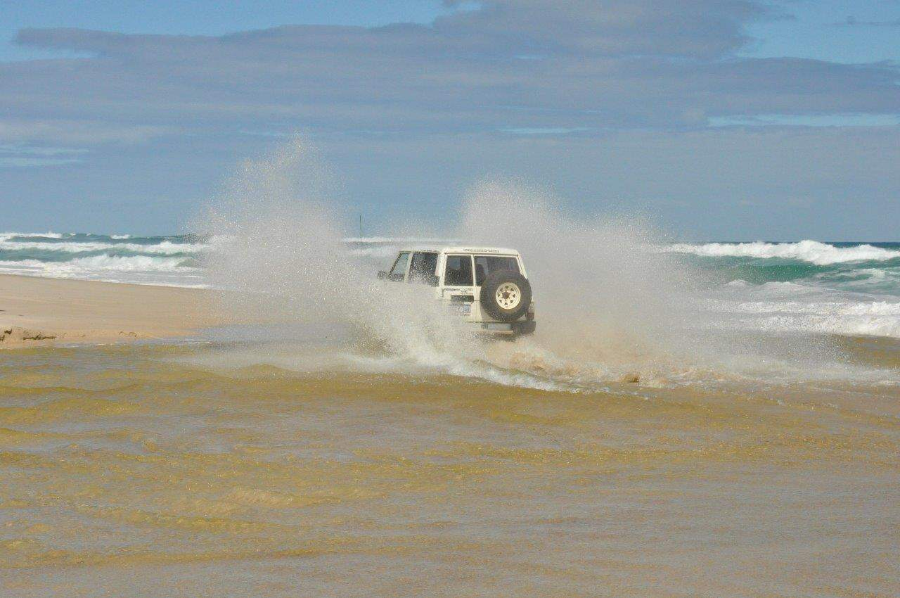 4WD's in salt water