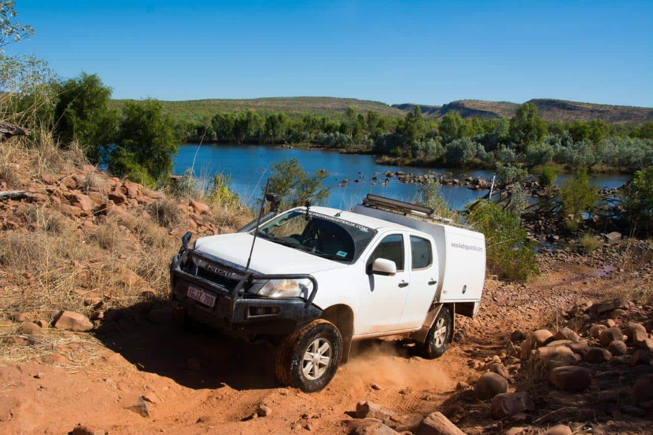 Drive your 4WD carefully